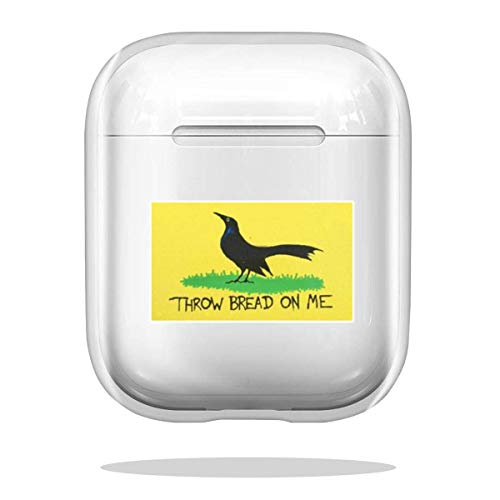 Case Cover Throw Bread On Me Bumper Sticker Compatible with Airpod Pro Airpods Charm Skin Absorption Bumper