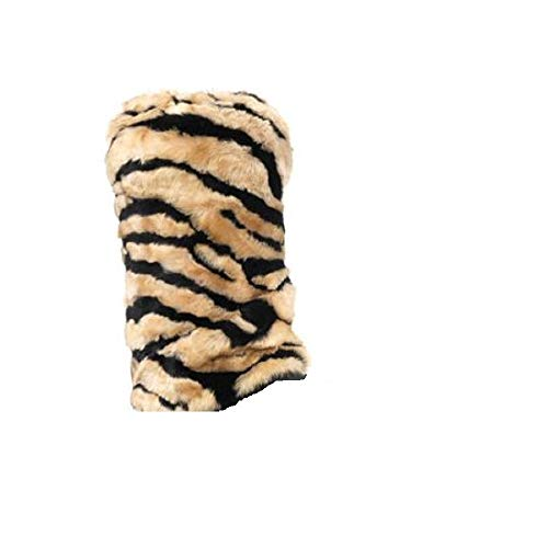 Faux Fur Boot Covers Leg Warmers Boot Sleeves (Tiger Stripe)