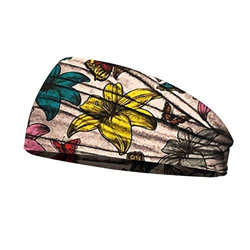 Turbantes para Mujer Diademas Diademas De Algodón Elásticas para Mujer, Diadema para La Cabeza, Turbante, Bandas Elásticas para El Cabello, Turbante -Style_2-B