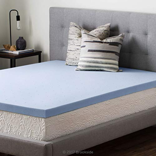 Brookside 2.5 Inch Gel Infused Memory Foam Mattress Topper - Twin