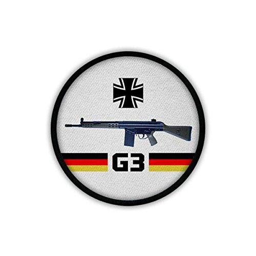 Copytec patch/patch - G3 geweer Bundeswehr wapen stormgeweer AGA 7,62 mm NATO standaardgeweer mannen band Duitsland basisopleiding # 19557