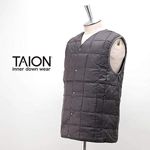 TAION(タイオン)『メンズVネックボタンインナーダウンベスト(TAION-001)』