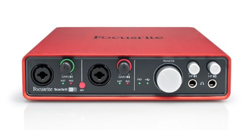 Focusrite Scarlett 6i6 (1st GENERATION) 6 In/6 Out USB 2.0 Audio Interface With Two Focusrite Mic Preamps