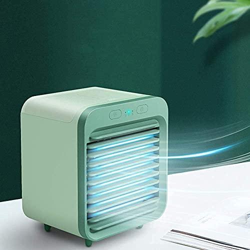aire acondicionado, Refrigerador de vaporización Mini-Air Cooler, personal portátil USB Ventilador de refrigeración del sistema de aire con la humidificación Ventilador de enfriamiento de escritorio d