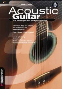 ACOUSTIC GUITAR - arrangiert für Gitarre - mit CD [Noten / Sheetmusic] Komponist: TUERK ULI + ZEHE HELMUT