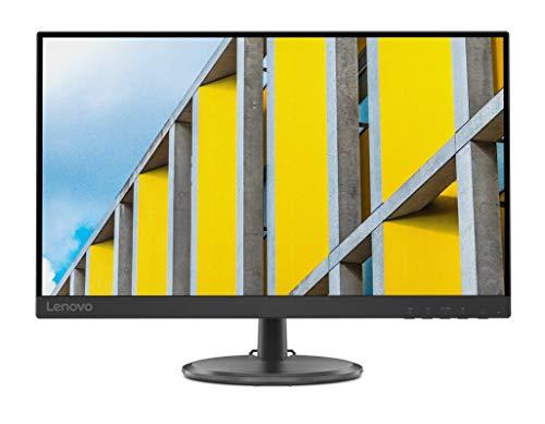 Lenovo D27-30 - Monitor de 27' (Pantalla FullHD, FreeSync, Gaming, 75 Hz, 5 ms, Cable HDMI + VGA, 3 lados sin bordes) Color negro