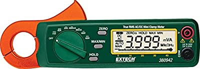 Extech AC/DC High Resolution Mini Clamp Meter