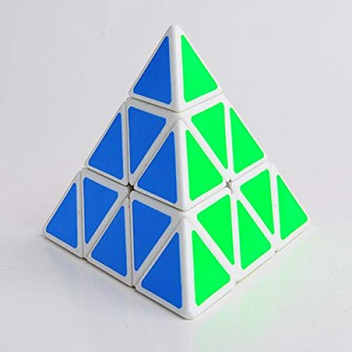 HUANGDANSEN Rubik'S Cubemagic Speed Cube Pyramid Cubo Magico Puzzle Profesional Juguetes educativos...