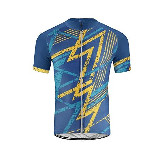 Uglyfrog Homme Été Maillot Manches Courtes Cyclisme vélo de Route Jersey Respirant Top T-Shirts Respirant VTT Maillot