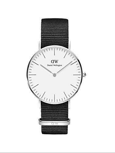 Daniel Wellington herenhorloge DW00100260, zilver, 36 mm