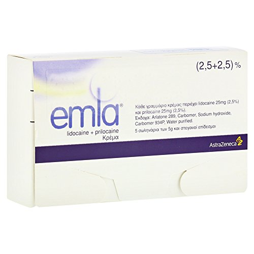 EMLA Creme + 12 Tegaderm Pflaster 5x5 Gramm