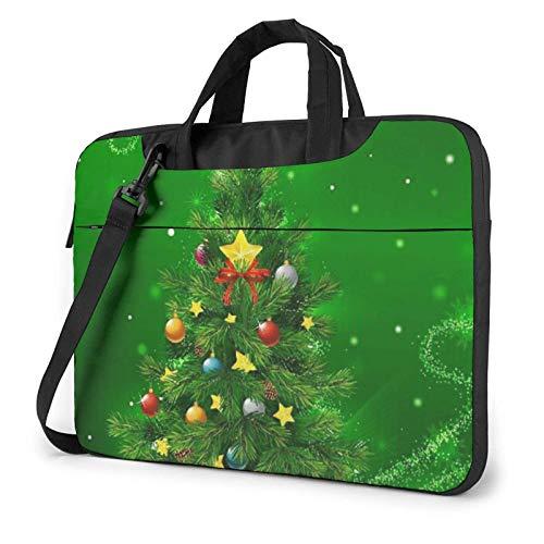 Laptop Bag Christmas Trees Laptop Shoulder Bag Messenger Briefcase Laptop Case Sleeve