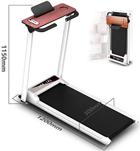 LUHUIYUAN Folding elektrische Laufband, belastbar bis 200 kg Sicherheit, Fernsteuergeräte für die perfekte Fitness, Geschwindigkeit 1-10 km/h, sehr geeignet für zu Hause/Büro