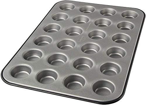 Dr. Oetker Muffinform 24-er Mini Ø 3,5 cm, Cupcake Form, für saftige Muffins, Backform der Serie Back-Idee Kreativ, Menge: 1 Stück