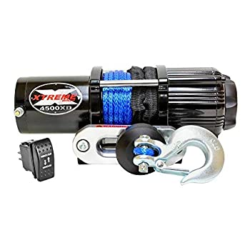 XTREME Winch 4500LB ATV Winch With Model Specifc Mount Fits 2016-21 HONDA PIONEER 1000 & 1000-5