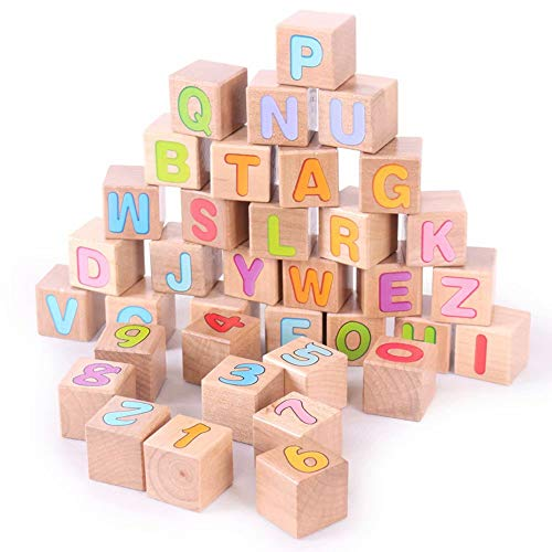 GG-kids toys Bébé Jouets 70 Blocs de Construction en Bois Jouets éducatifs pour Enfants pour Enfants 3-6 Ans Cadeau éducatif Parfait