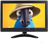 10,1 pollici Portatile Monitor TFT LCD Display Full HD 1366 x 768 CCTV Monitor with BNC/AV/VGA/HDMI ingresso con controllo remoto, compatibile con PC, DVD, telecamera di sorveglianza