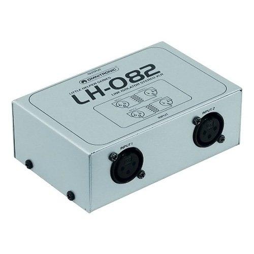 Omnitronic 10355082 LH-082 XLR Stereo-Isolator