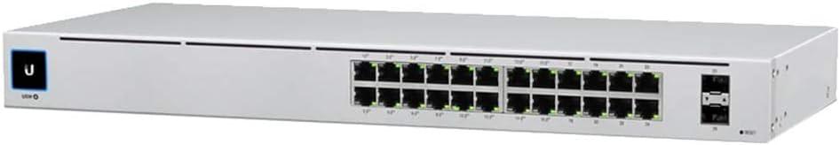 Ubiquiti Networks USW-24-POE Gen 2 120W UniFi Managed Gigabit Layer 2 Ethernet Switch with SFP, 24x RJ45 Ports