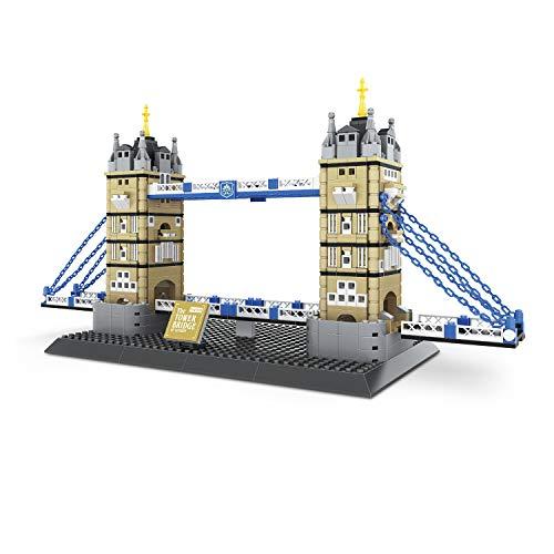 Airel Puzzle 3D | Spiele Bauen Kinder | Konstruktionsspielzeug | Konstruktionsspielzeug Kínder- Erwachsene | Bausteine für Kinder | Pädagogisches Lernspielzeug | Tower Bridge London
