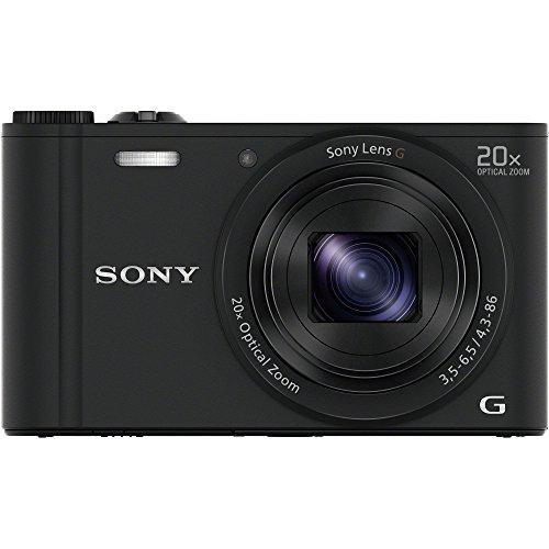 ソニー デジタルカメラ Cyber-shot WX350 光学20倍 ブラック DSC-WX350-B