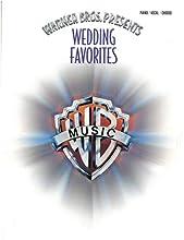 Warner Bros. Presents Wedding Favorites: Piano/Vocal/Chords