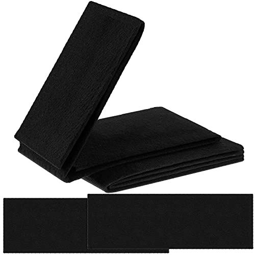 2 Pieces Activated Carbon Filter Sheet Charcoal Filter Pad 16 x 48 Cut to Fit Air Filter Roll Replacement AC Vent Filter for Air Purifiers Air Conditioners Trash Cans Furnace Air Humidifier