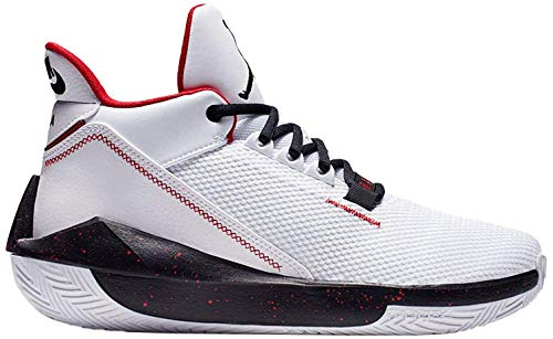 Nike Herren Jordan 2x3 Basketballschuh, White/Black-Gym RED