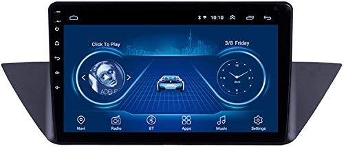 Laytte El Automóvil GPS Navigation Es Adecuado para BMW X1 2010-2015 Android Coche De Navegación Táctil Completo con Máquina Integrada De Jugadores Multimedia Bluetooth,8core 4g WiFi:4+64gb