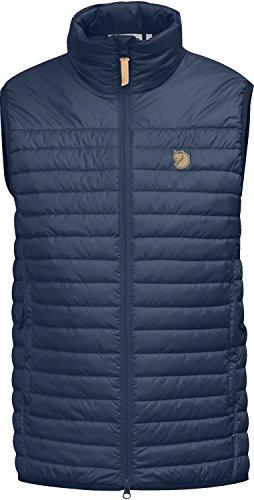 Fjallraven Herren Buck Fleece Vest M Sweatshirt, Dark Olive, XXL