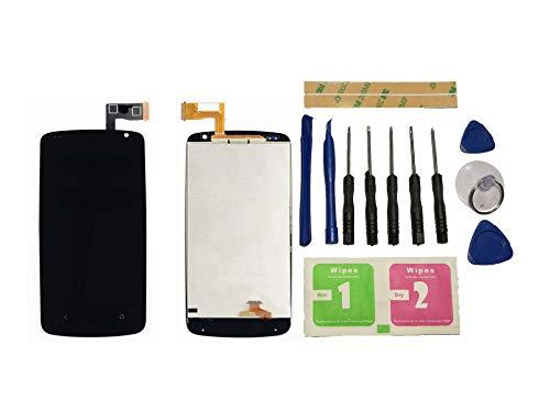 Flügel für HTC Desire 500 D500 Display LCD Ersatzdisplay Schwarz Touchscreen Digitizer Bildschirm Glas Assembly (ohne Rahmen) Ersatzteile & Werkzeuge & Kleber