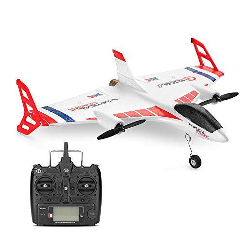 Wotryit XK X520 2.4G 6CH 3D/6G Airplane Vertical Takeoff Land Delta Wing RC Glider