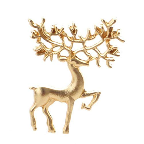 Broche del Pin, Mochila Cap De La Solapa La Insignia De Elk Pin para La Decoración del Bolso De Ropa