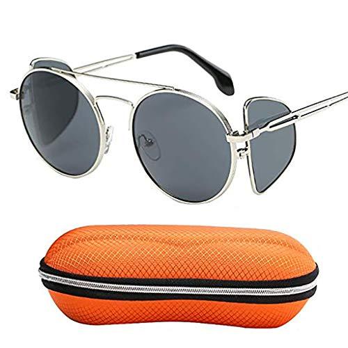Gafas Gafas de sol con movimiento polarizado, gafas de sol piloto anti-UV, montura de metal ultraligera plegable, adecuada para actividades al aire libre, conducción de viajes, toma de fotografías YHD