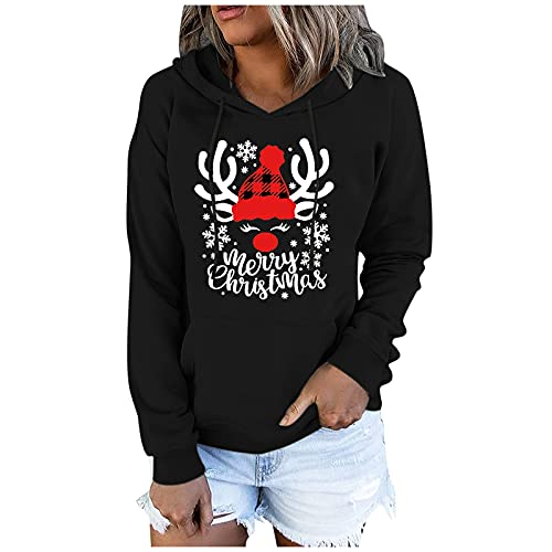 YJUU Hoodie Sweatshirt, Damen Kapuzenpullover, Riesen-Sweatshirt, Super weich und bequem, Geeignet für Erwachsene, Männer, Frauen, Jugendliche Damen Leichter Cardigan mit offener Vorderseite