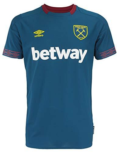 Men's International Soccer 18/19 Replica Jerseys, West Ham United FC - Away, Large