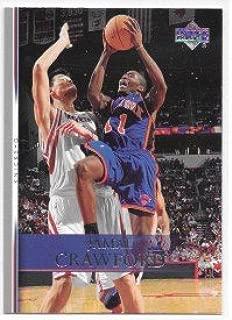 Jamal Crawford 2007-08 Upper Deck New York Knicks Card #97