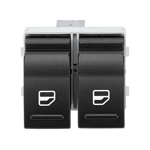 Accesorios del coche Interruptores y relés Accesorios del coche Puerta eléctrica Ventana doble interruptor de control lado del conductor para VW Transporter T5 T6 Caravelle 7E0959855A9B9