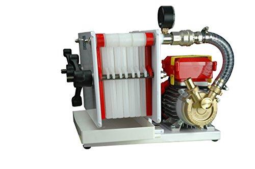 Fischer Kellereitechnik Weinfilter-Maschine: Lackierter Weinfilter für 8 Filterschichten