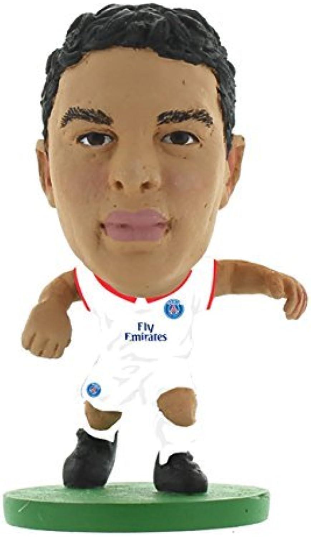 SoccerStarz 2016 Paris St Germain Thiago Silva Away Kit by SoccerStarz