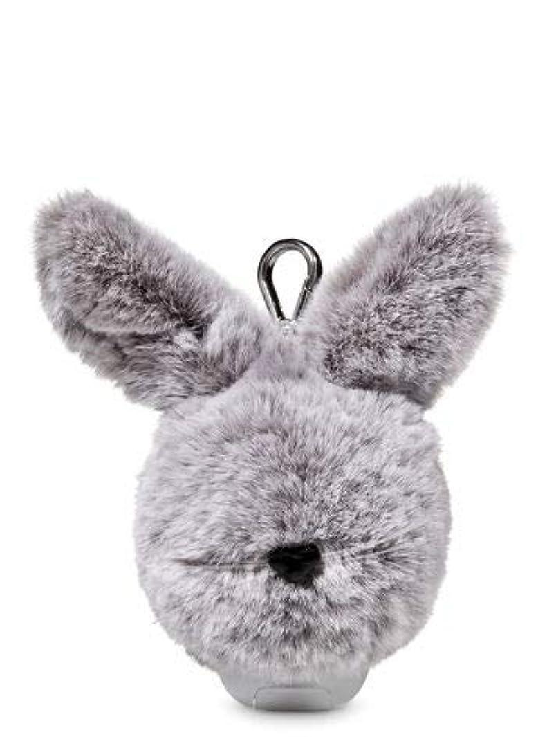 ガウン店主ナプキン【Bath&Body Works/バス&ボディワークス】 抗菌ハンドジェルホルダー イースターバニーポム Pocketbac Holder Easter Bunny Pom [並行輸入品]