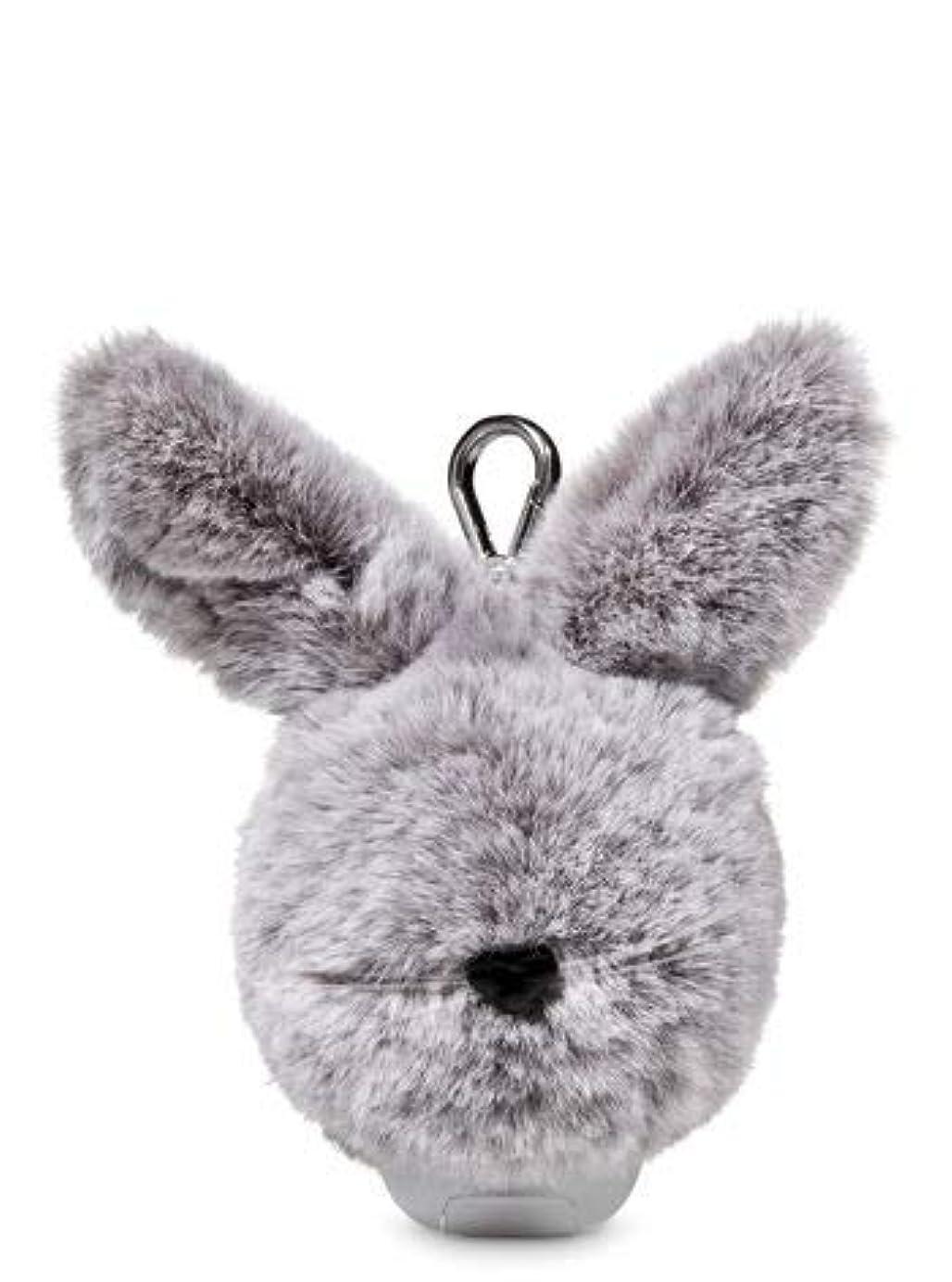 直感ステーキ整理する【Bath&Body Works/バス&ボディワークス】 抗菌ハンドジェルホルダー イースターバニーポム Pocketbac Holder Easter Bunny Pom [並行輸入品]