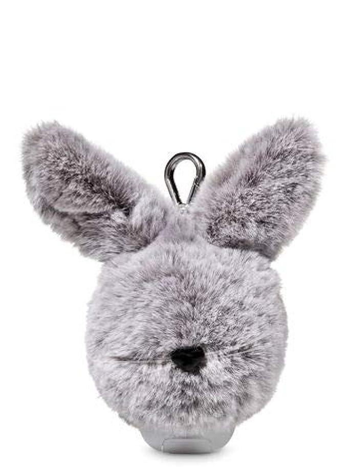 こねる猫背葉【Bath&Body Works/バス&ボディワークス】 抗菌ハンドジェルホルダー イースターバニーポム Pocketbac Holder Easter Bunny Pom [並行輸入品]