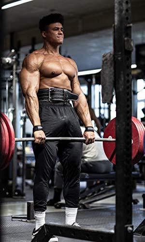 Profi Zughilfen (gepolstert) für Krafttraining, Bodybuilding, Gewichtheben & Fitness – für Damen und Herren – von Fitgriff - 2