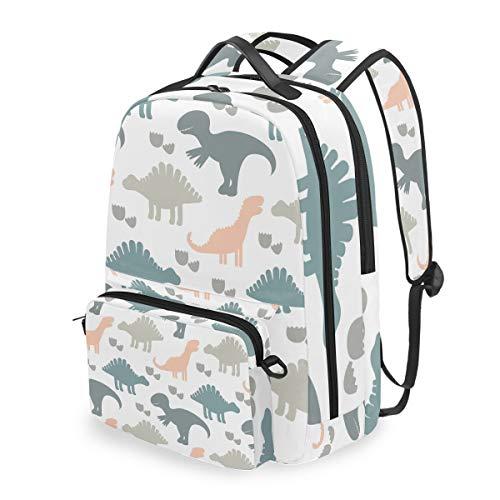 Rucksack mit abnehmbarem Kreuztaschen-Set Dinosaurier Kinder Computer Rucksäcke Büchertasche für Reisen Wandern Camping Daypack