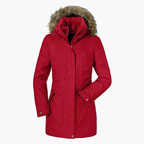 Schöffel Genova2 3in1 damesjack, waterdichte winterjas met uitneembare binnenjas, ademende regenjas met 2-weg stretch