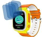 4ProTec I 4X Crystal Clear klar Schutzfolie für Anio Two Premium Bildschirmschutzfolie Displayschutzfolie Schutzhülle Bildschirmschutz Bildschirmfolie Folie