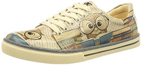 DOGO Sneaker, Zapatilla Mujer, Multicolor, 39 EU