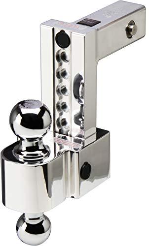 Best Deals! Fastway Flash 6″ Adj Dual Locking Aluminum BM 2″ & 2 5/16″ Chrome Balls – DT-ALBM6600