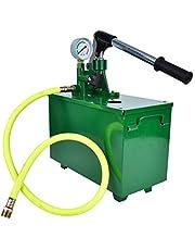 Bomba de prueba, Bomba de prueba de presión manual hidráulica, 40 kg 4MPA Bomba de prueba de presión manual Probador de fugas de tubería Herramienta de prueba hidráulica